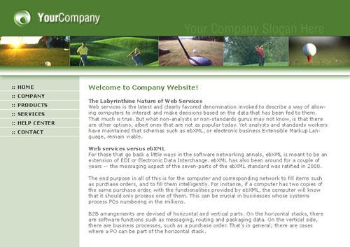 قالب شرکتی - شماره 2