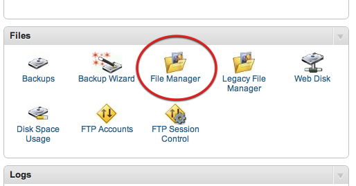 مدیریت فایل File Manager