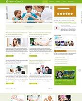 قالب و بسته نصبی IT HealthCare 2 جوملا 3 و 2.5